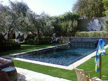 Artificial Grass Photos: Fake Grass Bartow, Florida Roof Top, Pool Designs