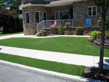 Artificial Grass Photos: Synthetic Grass Sunny Isles Beach, Florida Landscaping Business, Front Yard Landscaping Ideas