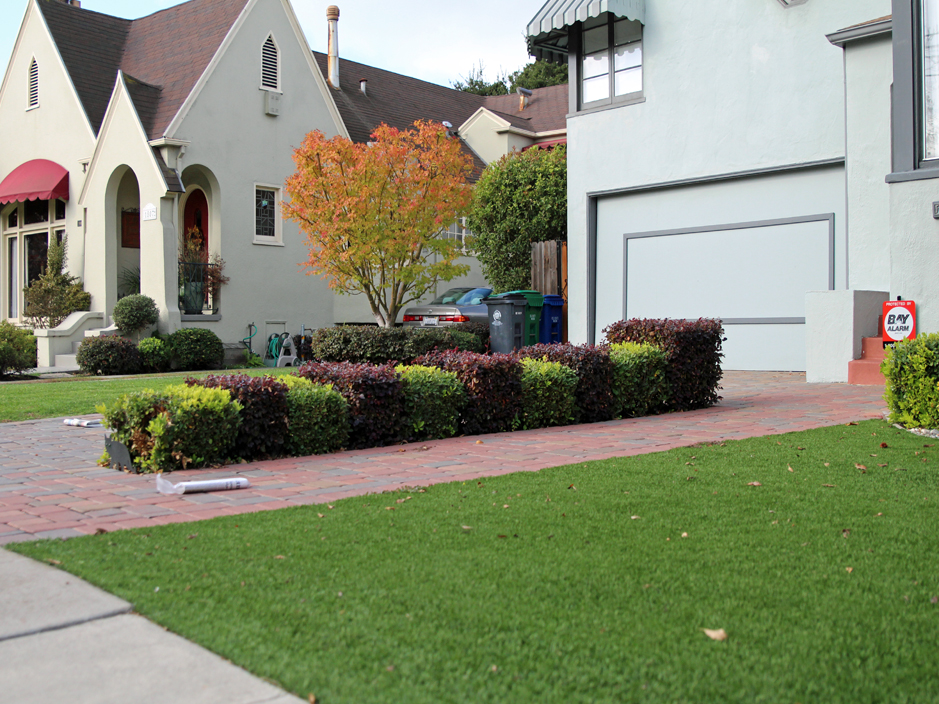 Synthetic Turf Kendall Green Florida Lawns Front Yard Landscape