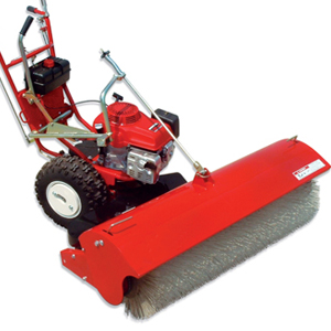 Artificial Grass Installation Power Broom